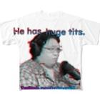 ushsr@divinitic信者1号機のジョージww.co.jp Full graphic T-shirts