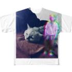 zero_roomのjankcat Full graphic T-shirts