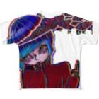 portemoのDG over Full graphic T-shirts