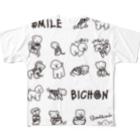 shimashima01 フルグラフィックTシャツ
