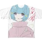 untimenのうぇるかむとぅーへぶん Full graphic T-shirts