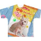 tinamagicalのcandy Full graphic T-shirts