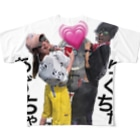 kenneruのあずちゃとりくちゃ Full graphic T-shirts