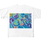 kanart のNo.7 Full graphic T-shirts