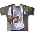 I`m not skater, rapper, influencer and ex-PR director, but this is street brand.のtets Full graphic T-shirts