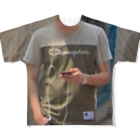 I`m not skater, rapper, influencer and ex-PR director, but this is street brand.のtste Full graphic T-shirts