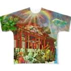 TOYOGON沖縄の天国の首里城FGT Full Graphic T-Shirt