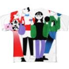 生き方見本市TOKAIの全員全身 Full Graphic T-Shirt