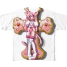𝓎𝓊𝒾'𝓈 𝑜𝓃𝓁𝒾𝓃𝑒 𝓈𝒽𝑜𝓅の偶像崇拝 Full graphic T-shirts