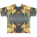 DURINGEXPERIMENTのDET-T-04 Full graphic T-shirts