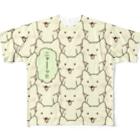 PygmyCat suzuri店の「ニャー(フルカラー)」 Full graphic T-shirts
