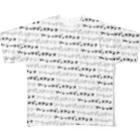 ティアティフ@LINEスタンプ&Tシャツの全方向ソーシャルディスタンス Full graphic T-shirts