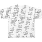 あやふ屋のあやふ屋 パターンTシャツ Full graphic T-shirts