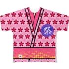 angel22のWM©︎(日本の夏🎆 Full graphic T-shirts