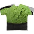 星空青井のアイス食べたい(^q^) Full graphic T-shirts