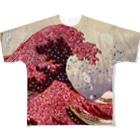 線流の蟇悟カス荳牙香蜈ュ譎ッ 逾槫・亥キ晄イ匁オェ陬 Full graphic T-shirts