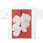 harucameraのharucamera コチョウラン-4 Full graphic T-shirts