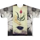 tanna fantastic worldのドールパーツ 痩せて見えるTシャツ Full graphic T-shirts