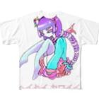 はしうおの平成カワイイ Full graphic T-shirts