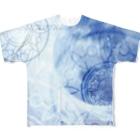 suparnaの目覚める月 Full graphic T-shirts
