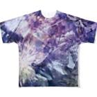 suparnaの再生された未来 花 Full graphic T-shirts