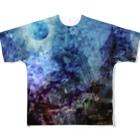 suparnaの壊された未来と焦燥 タイポグラフィ無し Full graphic T-shirts