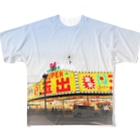 DEEP案内編集部の釜ヶ崎スーパー玉出 Full graphic T-shirts