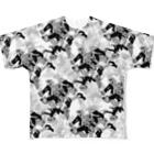 🍰🍭🍨🎂🍬🍩🍦🍮🍫🍪の無限和泉童子 Full graphic T-shirts
