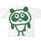 助けてさんのやばぱんだ Full graphic T-shirts
