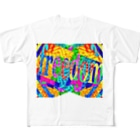 RAKKANの自由! freedom! FREEDOM! Full graphic T-shirts
