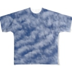 Lily bird(リリーバード)のいわし雲photo Full graphic T-shirts