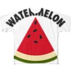DRIPPEDのWATERMELON 扇形 Full graphic T-shirts