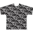 Gin_nan ni ameのChaotic_02_02 Full graphic T-shirts
