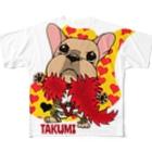 彩羽 匠 takumi irohaのわさイラスト All-Over Print T-Shirt