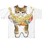 mofusandの下手くそかっ Full Graphic T-Shirt