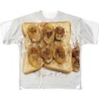 オンガクスグッズショップのふりふり焼きバナナ🍌 Ongakus photo goods All-Over Print T-Shirt