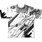 ひのもとめぐる/ひのまる航空の桜田さんと東京タワー Full graphic T-shirts