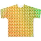 『ひざ通商。』HIZA-TRADING COMPANY IN SUZURIの六道輪廻h.t.(full) Full graphic T-shirts