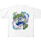 Makiko KodamaのStreetは宇宙 No.2 Full graphic T-shirts