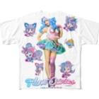 Cosmic Ninja -YAMIICHI-のオシリスたゃん フルグラフィックTシャツ