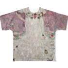 art-standard(アートスタンダード)のグスタフ・クリムト(Gustav Klimt) / 『メーダ・プリマヴェージ』(1912年) Full Graphic T-Shirt