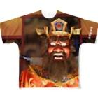 伊豆極楽苑の閻魔様フルグラフィックTシャツ Full Graphic T-Shirt