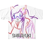 SHIRAYUKIのしらゆきのアップしすぎのTしゃつ Full graphic T-shirts