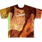 けんぞうさんの歌舞伎 Full graphic T-shirts