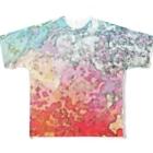 犬野温森のあつすぎ Full graphic T-shirts