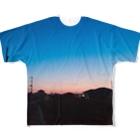 きょうは、なにをきようか。の夕焼けが綺麗だったから Full Graphic T-Shirt