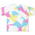 UZUMAKIのカラフル Full graphic T-shirts
