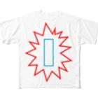 よシまるシンの吹き出し大喜利2 Full graphic T-shirts
