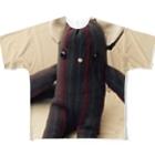 LuckyemeのロシアンブルコフルグラフィックTシャツ