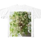 harucameraのharucamera マトリカリア Full graphic T-shirts